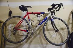 My Fuji Team Pro road bike