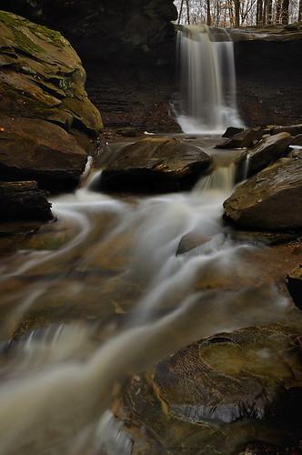 nature waterfall circularpolarizer cuyahogavalleynationalpark cvnp bluehenfalls neutraldensityfilter ohiowaterfall nikond90