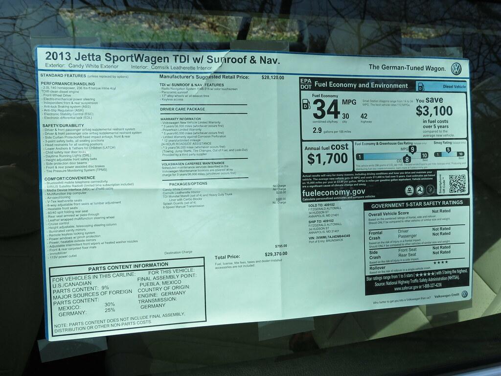 2013 Volkswagen Jetta Sportwagen TDI | Read the review at mi