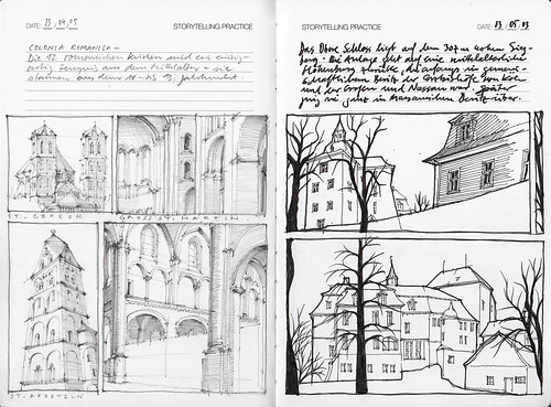 IDComics Storytelling Practice Page 3   pencil drawing with …   Flickr