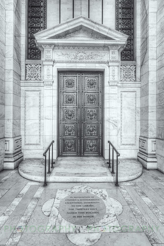 New York Public Library Entrance | by cholmesphoto