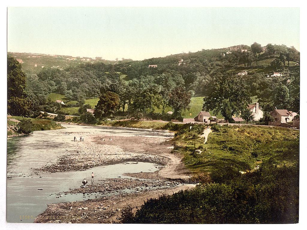[General view, Lydbrook (lower), England]  (LOC)