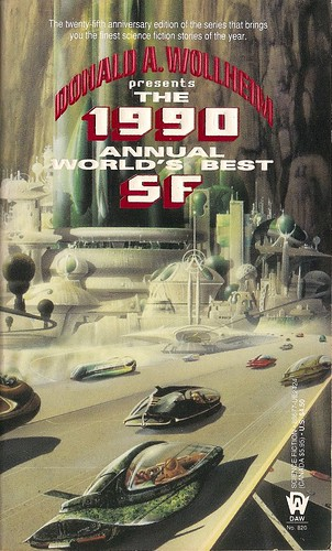 Donald A. Wollheim (ed) - The 1990 Annual World's Best SF (DAW 1990)