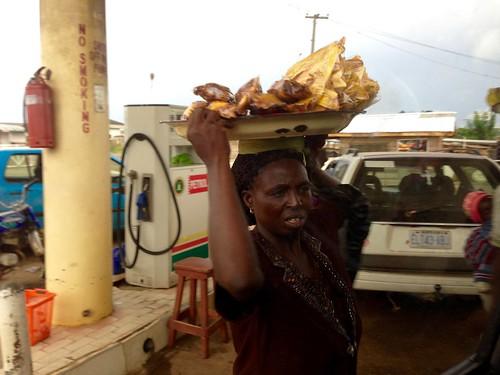 ondowomanhawkingplantainchipsinakure ondo nigeria jujufilms streethawking streetfood photography africanculture travel