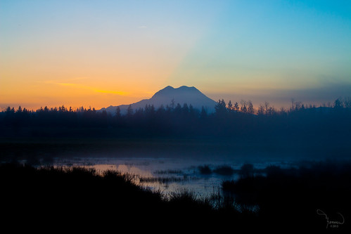 longexposure trees sun mist mountains reflection nature silhouette fog rural sunrise canon landscape pond mood atmosphere rainier washingtonstate majestic mtrainier t4i 1riverat matthewreichel