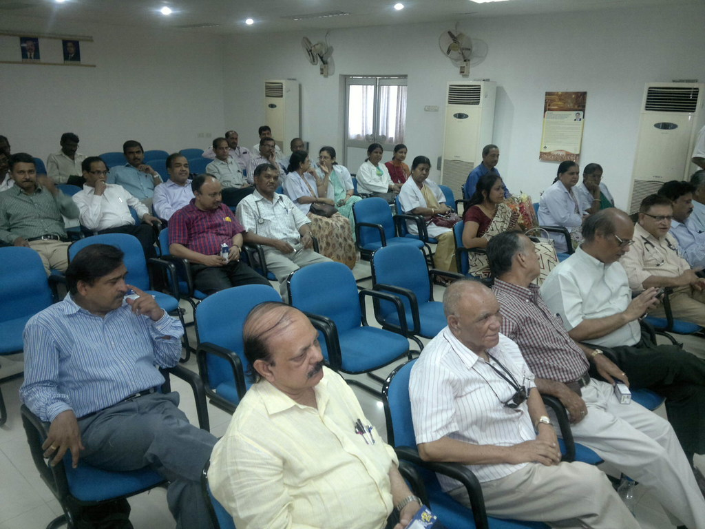 'Hypertension' - on the eve of WHD celebrations- participants