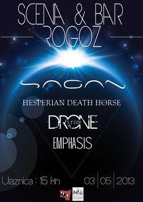 Sagan + Emphasis + Drone Hunter + Hesperian Death Horse