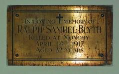 killed at Monchy