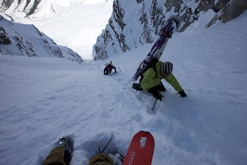 Mon, 2013-04-22 13:13 - Mt. Stanley, North Face and Waterman Couloir with Joshua Lavigen and Ali Haeri