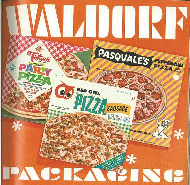 Frozen Pizza Boxes, 1966