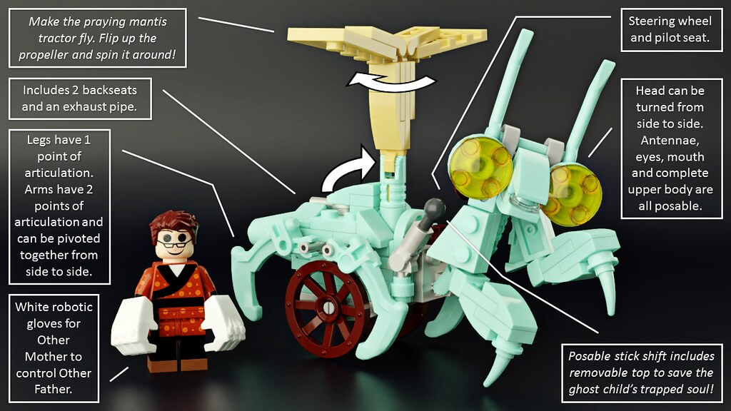 The Coraline Magical Garden - LEGO Ideas - 3 | This set is b