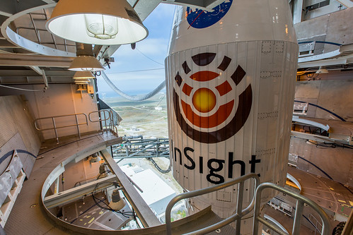 Tower Rollback: Atlas V InSight   by United Launch Alliance