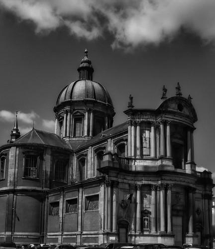 Cathédrale ST Aubin #Namur  Travail en noir et blanc | by BrognonPhilippe