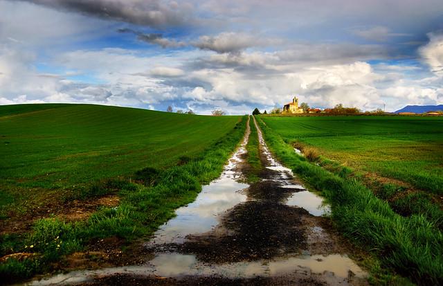 Alava landscape.