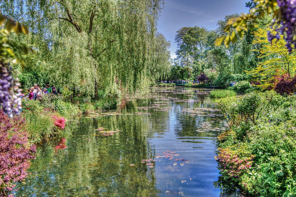 Monet garden of Giverny