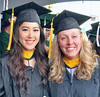 Bright futures are in the forecast for Kayla Yamamoto and Ashley Heikkila who received their MS degrees in atmospheric sciences.  The University of Hawaii at Manoa's spring 2018 commencement ceremony was held at the Stan Sheriff Center on Saturday, May 12, 2018.