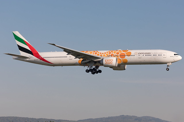A6-EPO Emirates Boeing 777-31H(ER) Expo 2020 livery (FRA - EDDF - Frankfurt) (FRA - EDDF - Frankfurt)