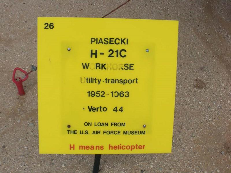 Piasecki H-21C Workhorse 1