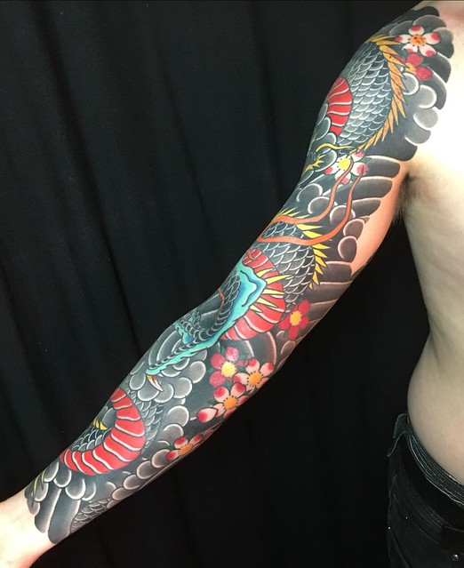 Done! By Amar Goucem at Dragon Tattoo Eindhoven.