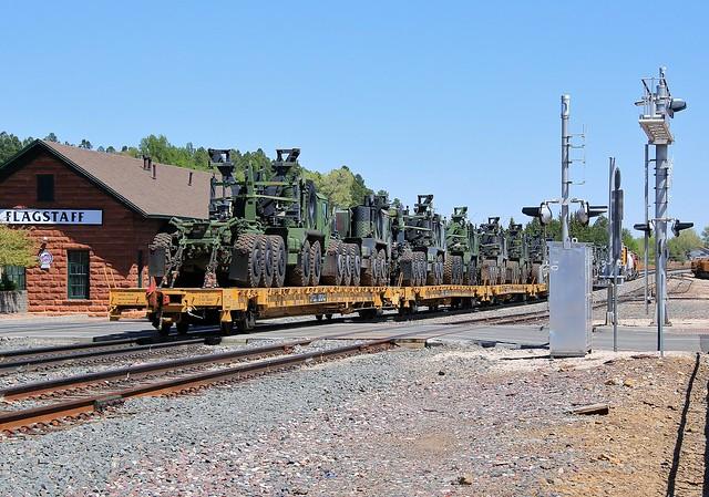 Convoy on Rails