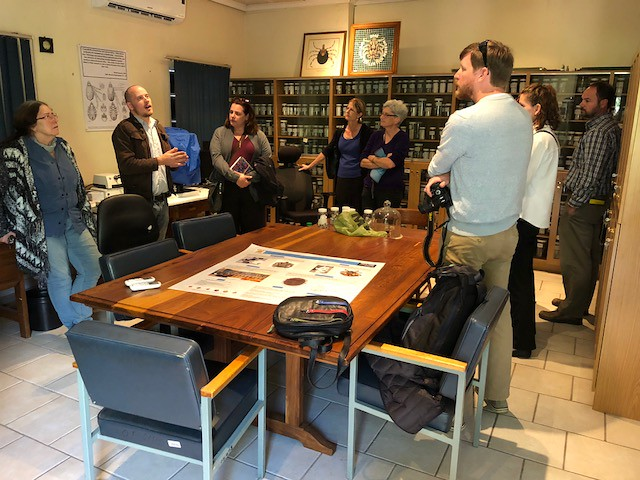Day 2: Participants travel to ARC-Onderstepoort Veterinary Institute and meet with DeonBakkes who works for the Agricultural Research Counc...