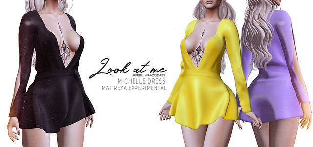 Look At Me store. Michelle Dress @Lost & Found