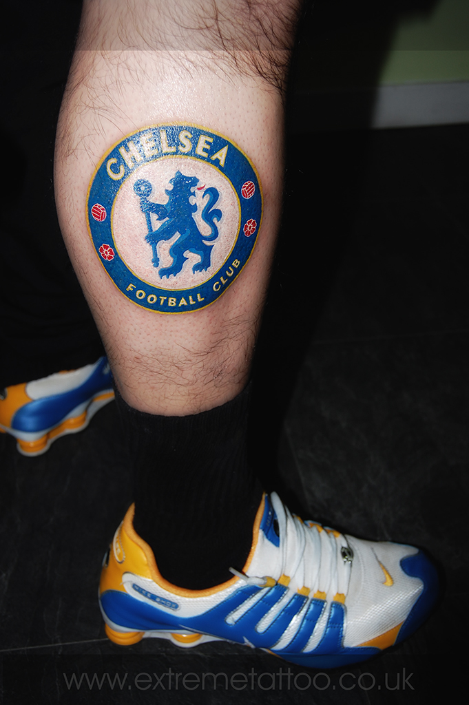 Chelsea Small Chelsea Football Club Badge Tattoo Extreme Tattoo