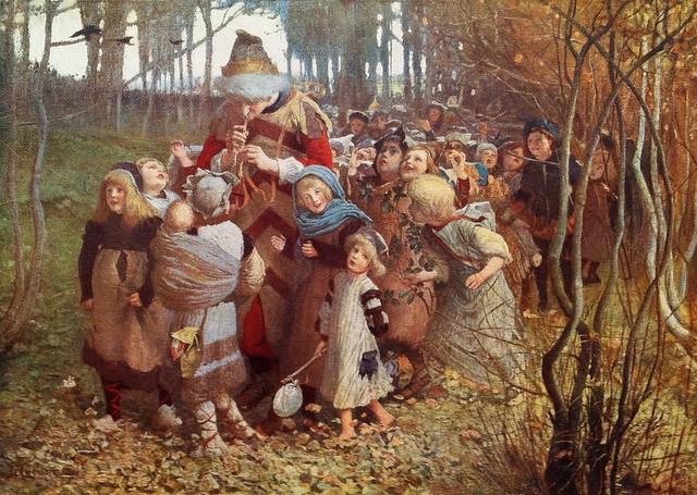 "James Elder Christie (Scottish, 1847-1914), ""The Pied Piper of Hamelin"", 1881"