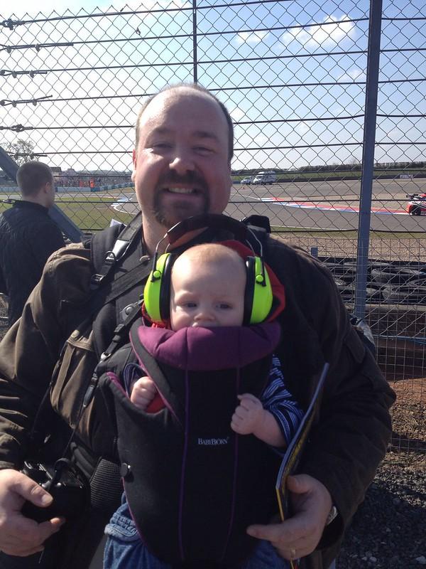 BTCC at Donington Park, April 2013