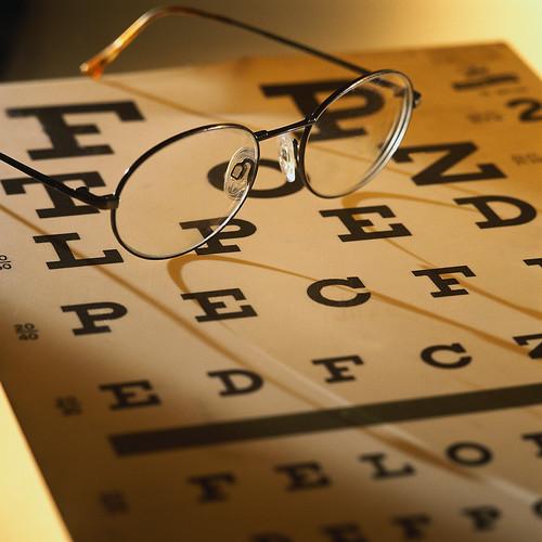 How far is the Eye Chart