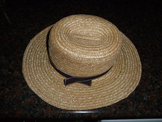 Amish Straw Hat | by Scrounger & Doxie