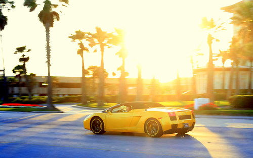 road sunset sun galveston car yellow canon photography spring texas weekend explore lamborghini explored top20texas