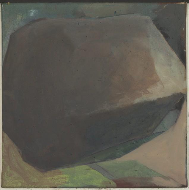 o.T., ,Acryl-Pigment, 40 x 40 cm, 2012