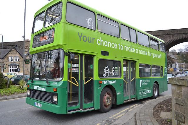 TM Travel Leyland Olympian 1109.G535VBB - Buxton
