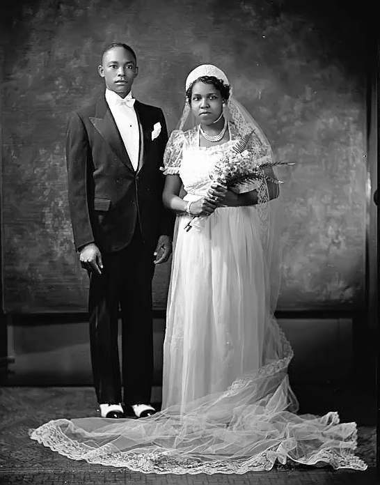 Mr and Mrs O Mease of Washington DC, 1930