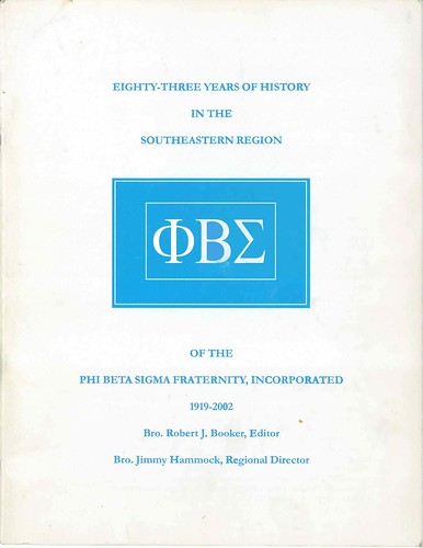 Eighty-Three Years of History in the Southeastern Region (cover) | by bluephi.net