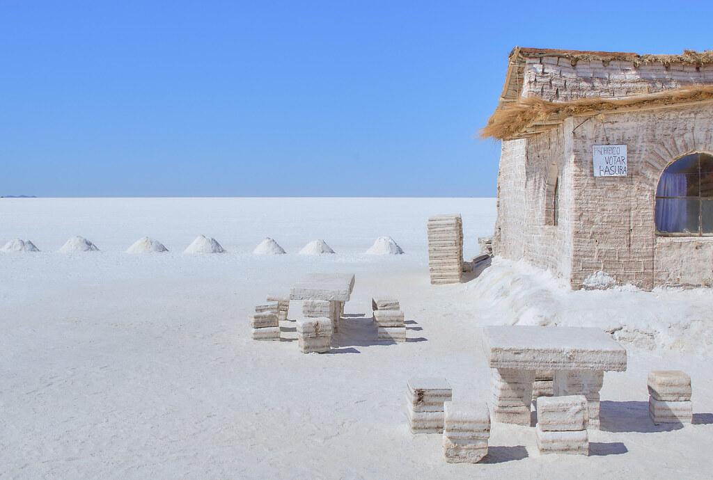 Salt Hotel, Salar de Uyuni, Bolivia