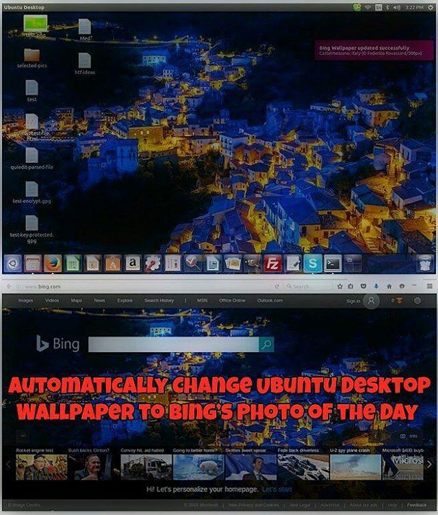 How to Automatically Change Ubuntu Desktop Wallpaper to Bi