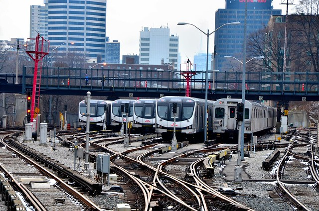 TTC Davisville Subway Yard