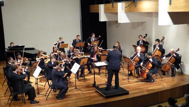 Orquestra de Câmara da Cidade de Curitiba. Foto: Luiz Cequinel
