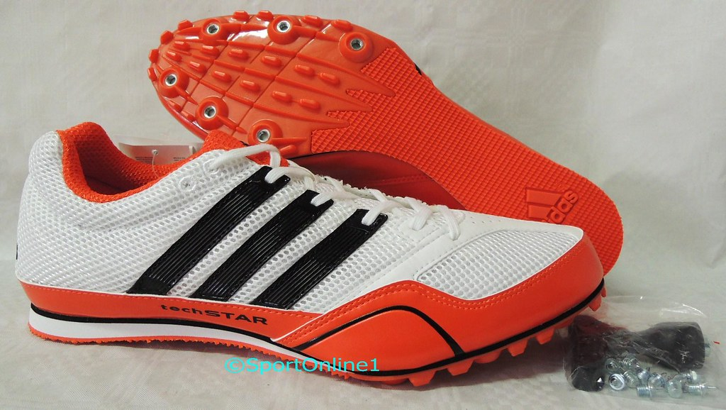 detallado mas fiable para toda la familia adidas Techstar Allround 2 weiß orange | postfach9999 | Flickr
