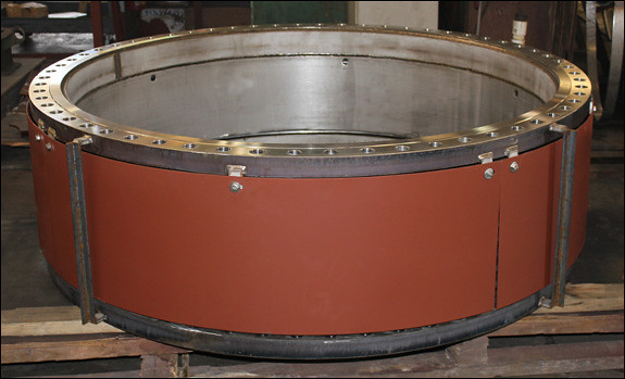 """56"""" Dia. Single Expansion Joints Designed for a Gas Service in Peru"""