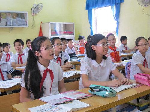Teaching in Vietnam | by Volunteer Thailand