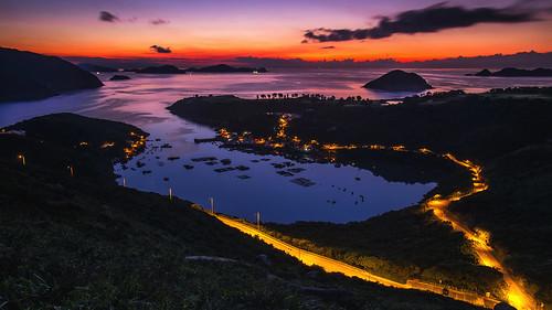 sunrise landscape hongkong pentax magic 香港 k5 saikung 日出 西貢 布袋澳 釣魚翁郊遊徑 flickrhongkong highjunkpeakcountrytrail flickrhkma