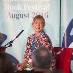 Janet Ellis   The former Blue Peter presenter introduces her debut novel, The Butcher's Hook © Alan McCredie