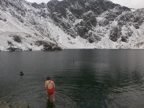 Swimming at Llyn Cau, Cadair Idris | by NoSoma