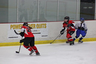 The Chicago Fury U14 AAA Girls Hockey Team vs Team Illinois at Arctic Ice Arena in Orland Park, Illinois on February 2nd, 2013.   by old06cphotos