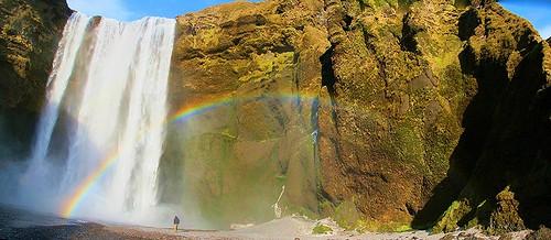 La Cascada de Skógafoss Islandia   by El Coleccionista de Instantes