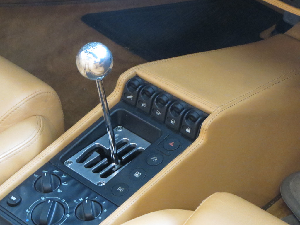 Ferrari gated shifter | Cooper Classic Cars NYC | Flickr
