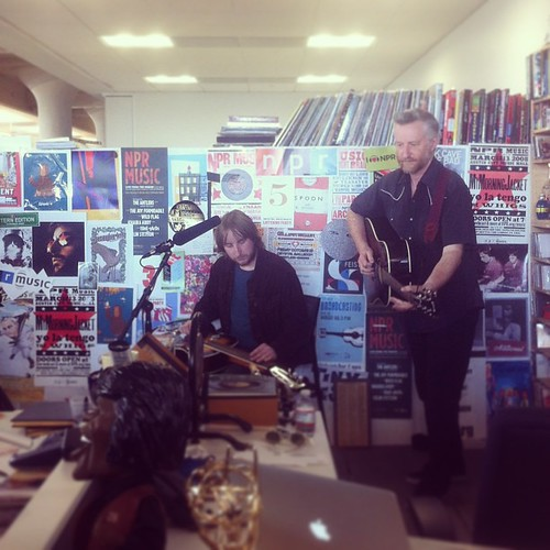 Tiny Desk Concerts have resumed at the new building. Up today: a fun set from Billy Bragg. #tinydesk | by alykat